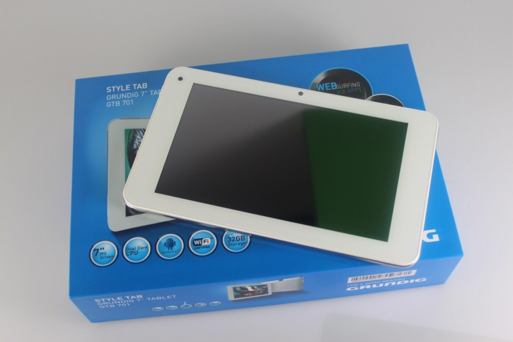 Digitizer Touchscreen Tablete Grundig